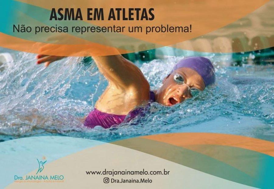 ASMA EM ATLETAS NÃO PRECISA REPRESENTAR UM PROBLEMA