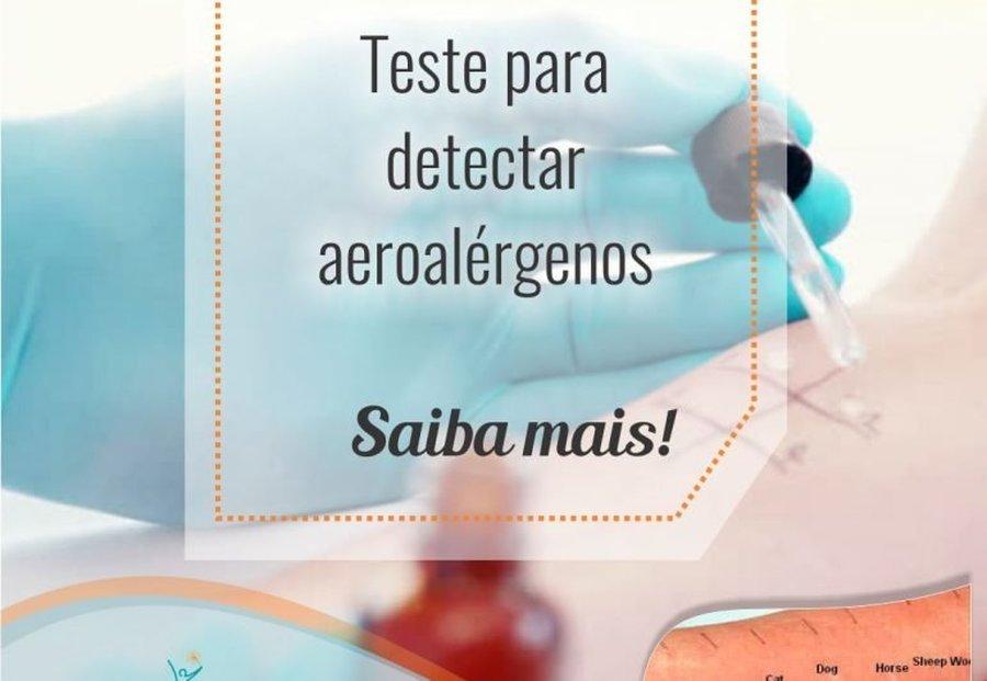 PRICK TESTE PARA AEROALÉRGENOS – SAIBA MAIS!
