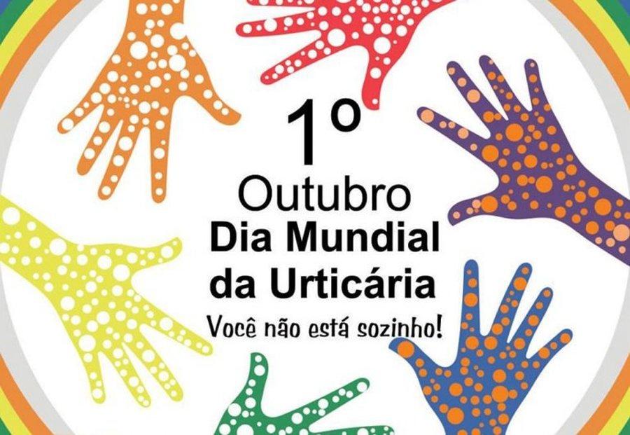 DIA MUNDIAL DA URTICÁRIA – 01, OUT