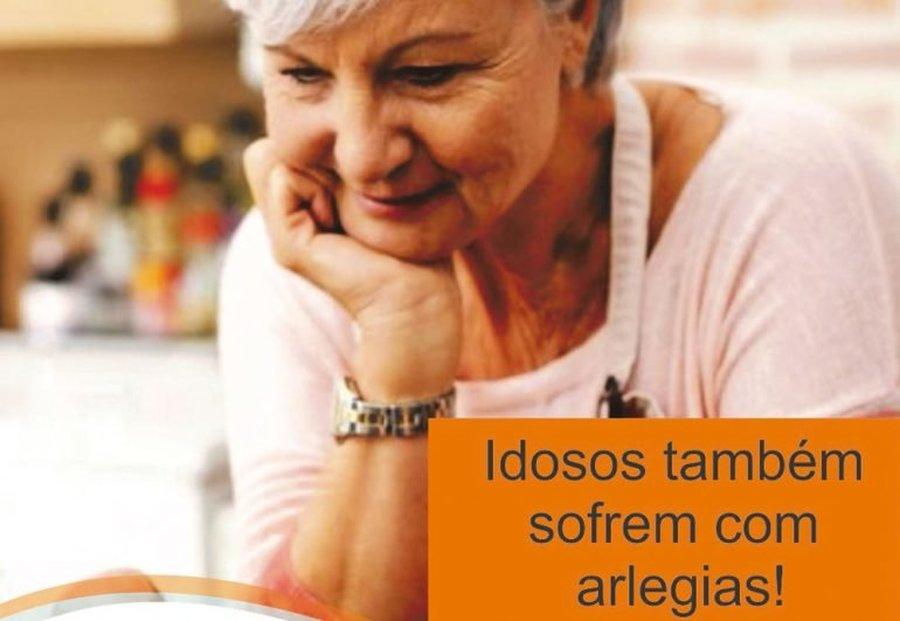 IDOSOS TAMBÉM SOFREM COM ALERGIAS