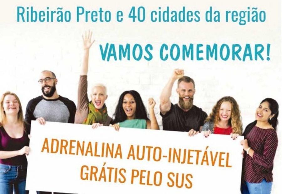 ADRENALINA AUTO-INJETÁVEL PELO SUS