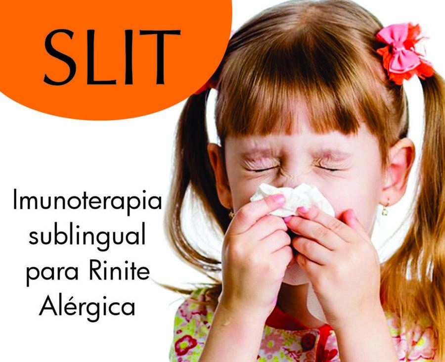 Imunoterapia Sublingual para Rinite Alérgica