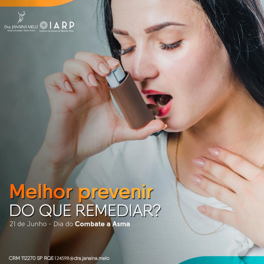 Asma - Melhor prevenir do que remediar?