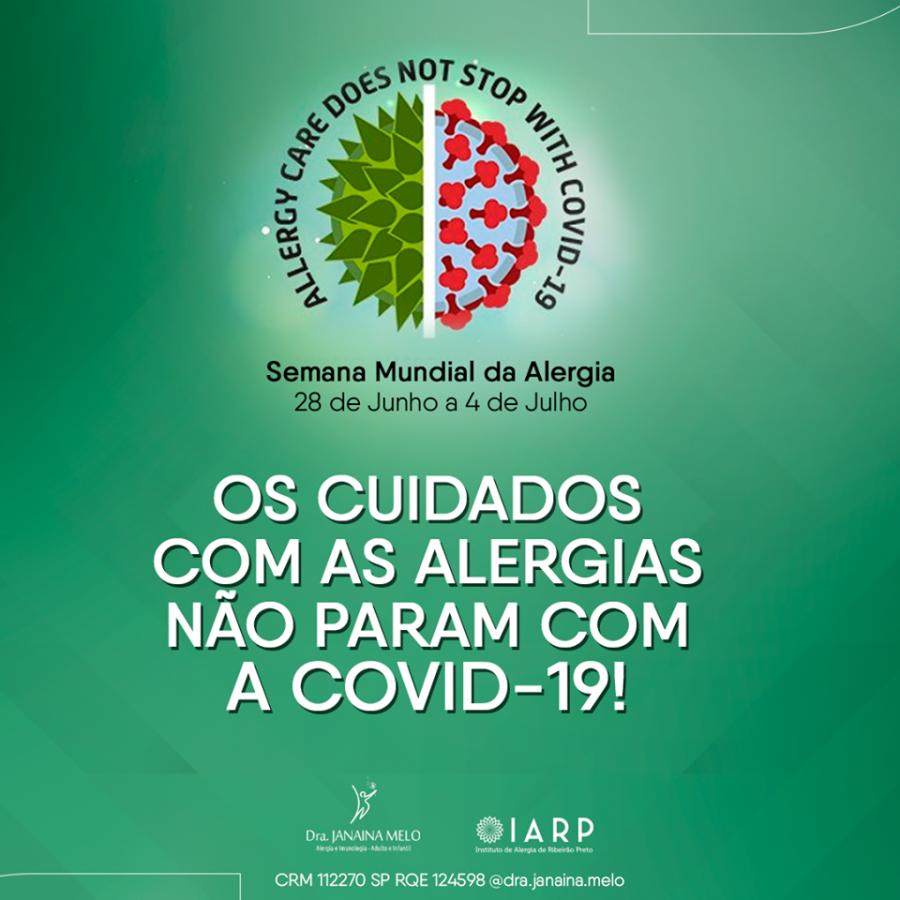 Semana Mundial da Alergia!