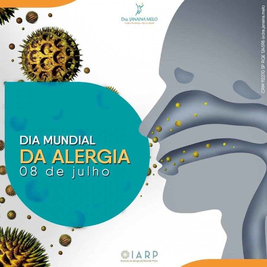 Dia Mundial da Alergia!