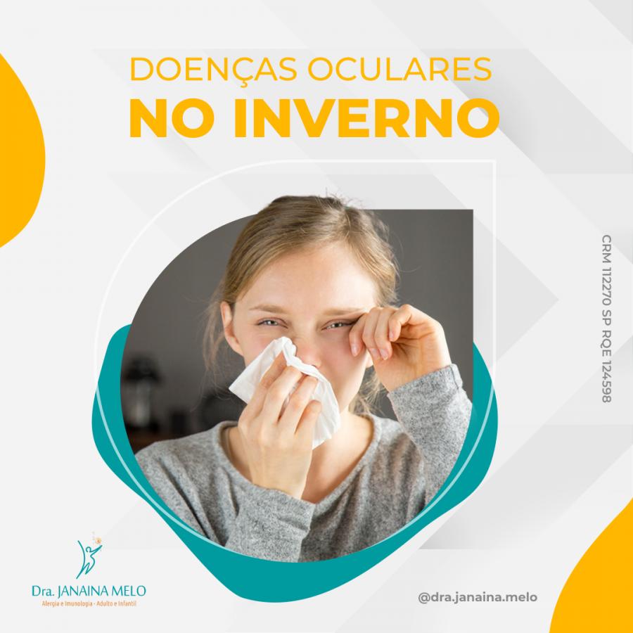 Doenças Oculares no Inverno