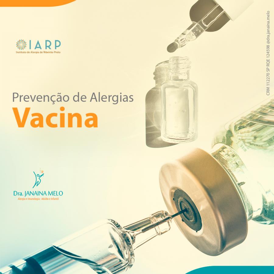 Prevenção de Alergias - Vacina
