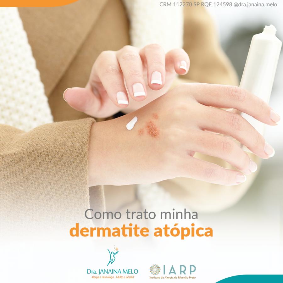 Como trato a minha Dermatite Atópica