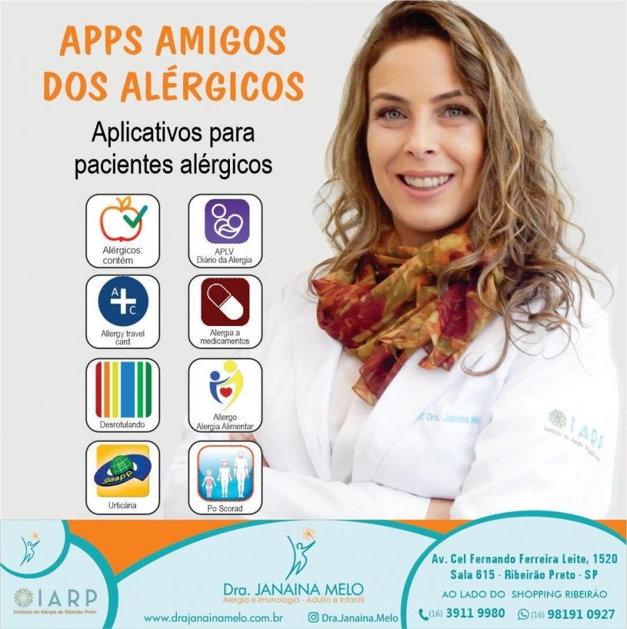 Apps Amigos dos Alérgicos!