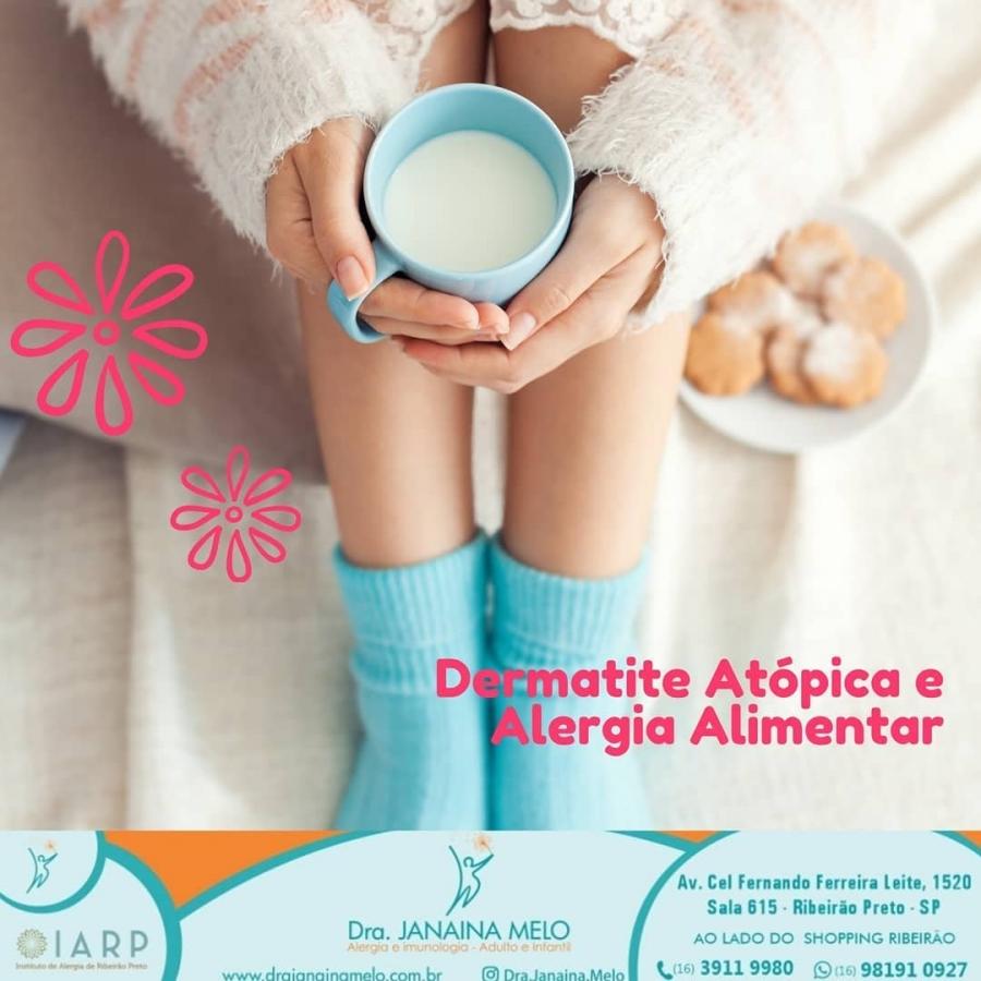 Dermatite Atópica X Alergia Alimentar