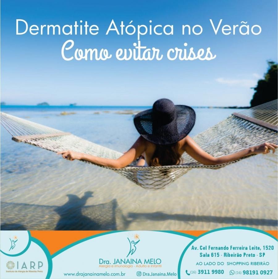 Como evitar crises de Dermatite Atópica no verão?