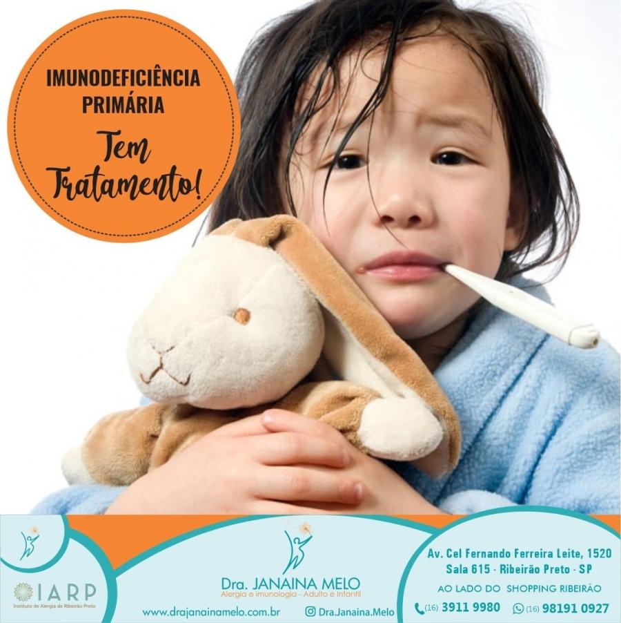 Imunodeficiência Primária tem tratamento!