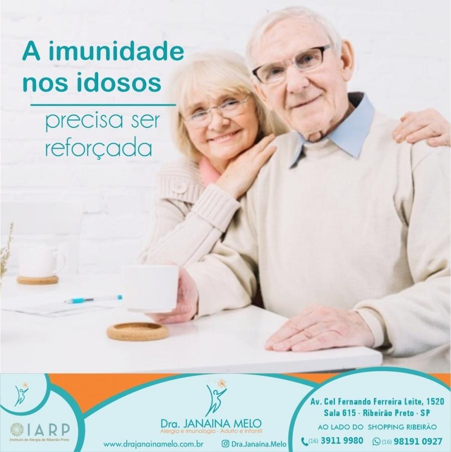 A imunidade dos idosos!