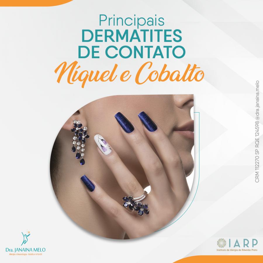 Principais Dermatites de Contato - Níquel e Cobalto