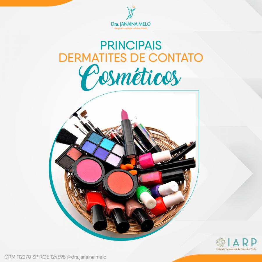 Principais Dermatites de Contato - Cosméticos