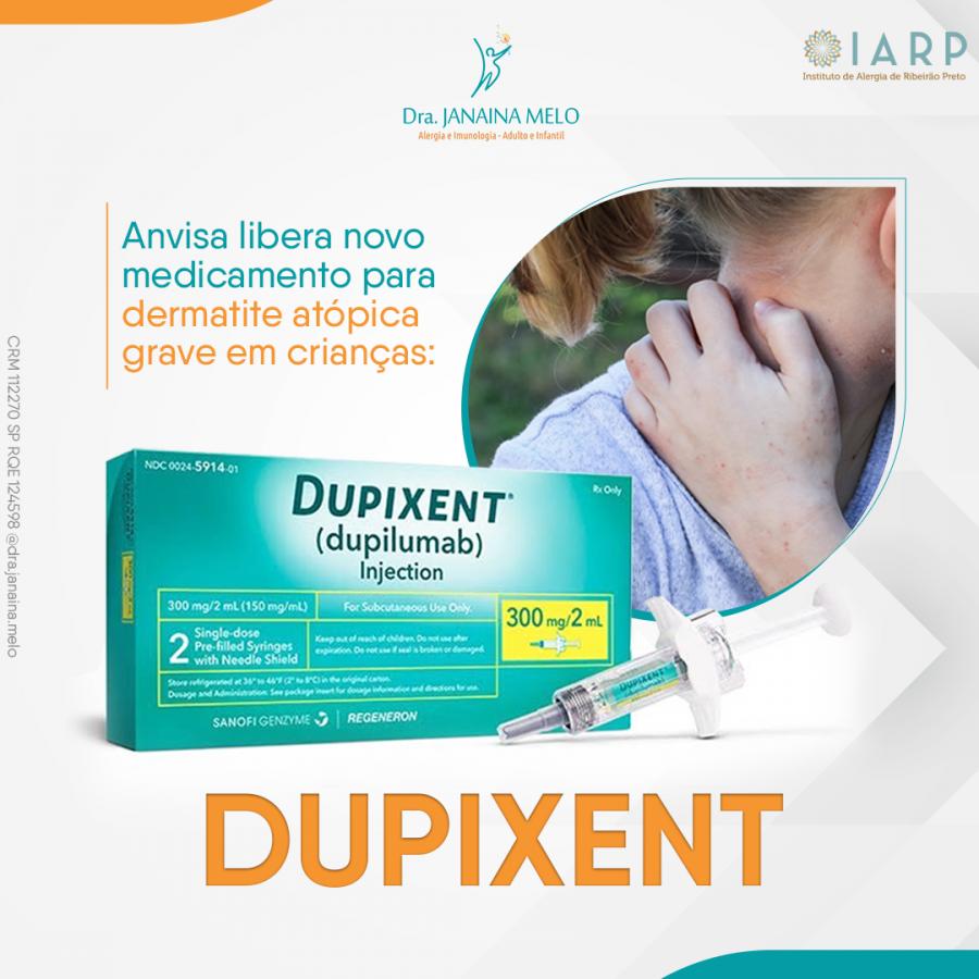 Dupixent®?  para o tratamento da Dermatite Atópica Grave