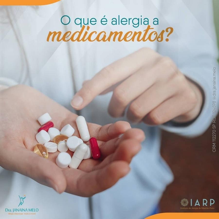 O que é Alergia a medicamentos?