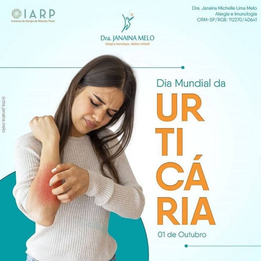 Dia mundial da Urticária