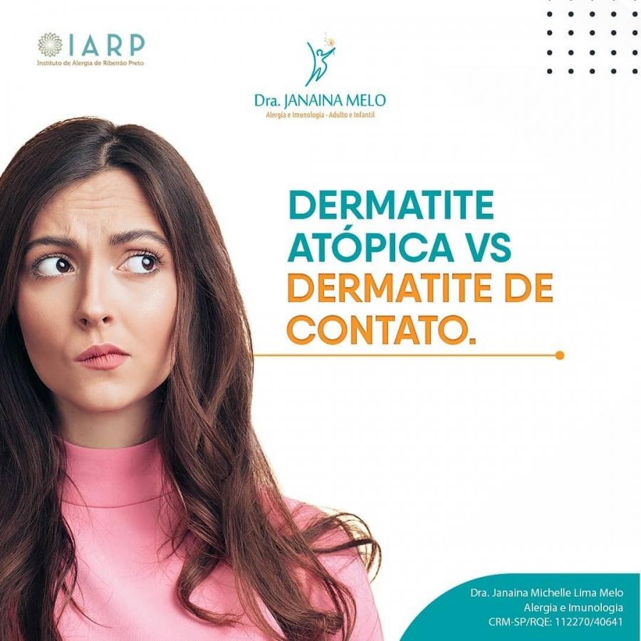 Dermatite de Contato X Dermatite Atópica