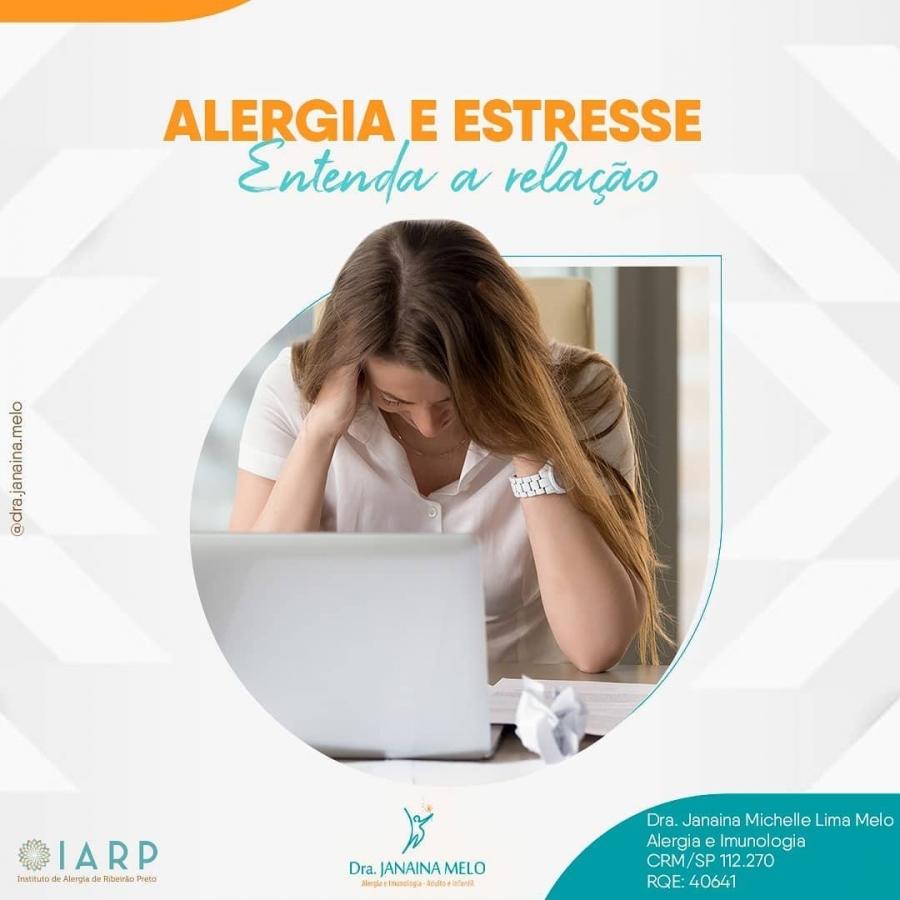 Qual a relação da alergia e do estresse?