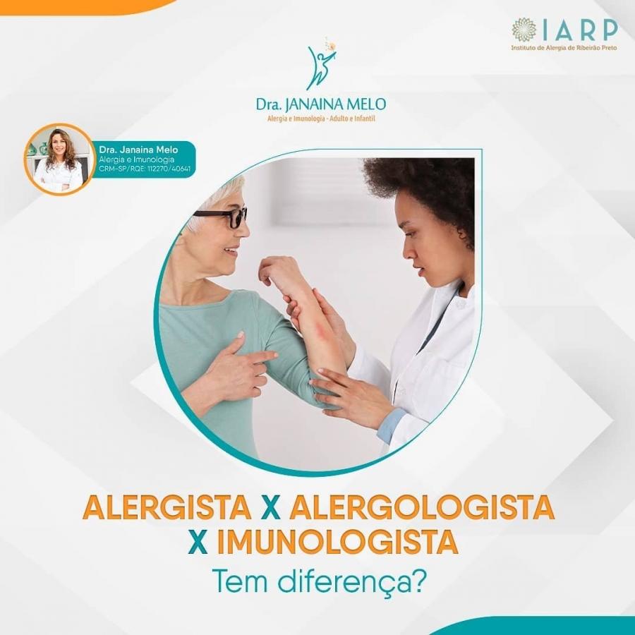 Qual a diferença entre Alergista, Alergologista e Imunologista?