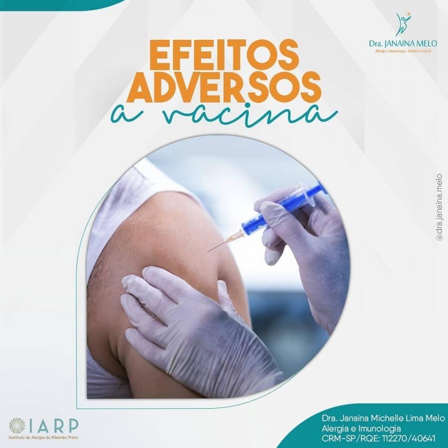 Efeitos adversos a Vacina