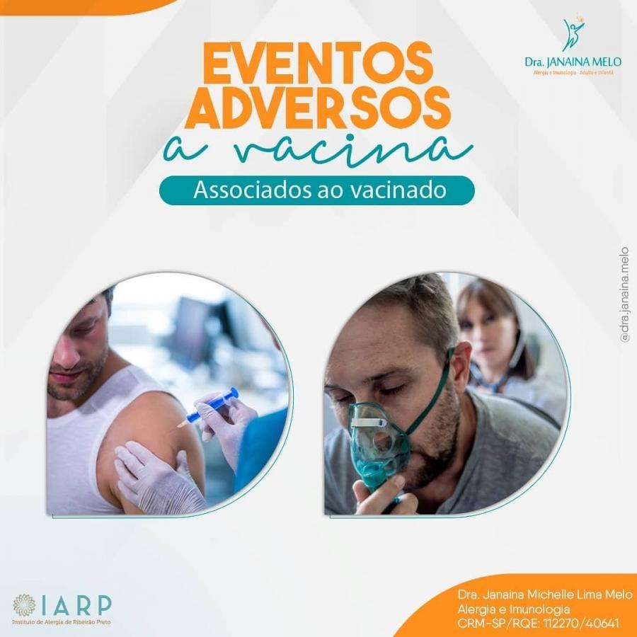 Eventos adversos a vacina associados ao vacinado