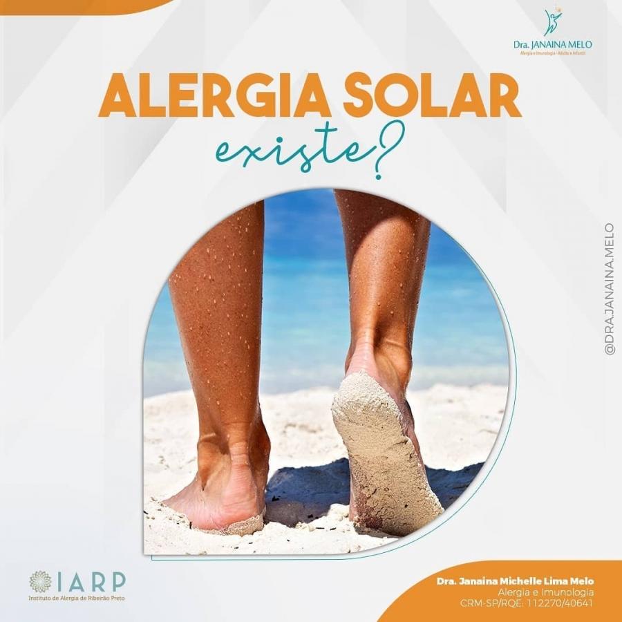 Existe Alergia Solar?