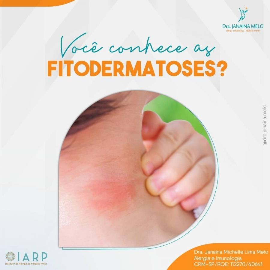 Você conhece Fitodermatoses?