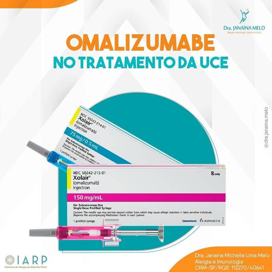 Omalizumabe no tratamento da Urticária Crônica Espontânea