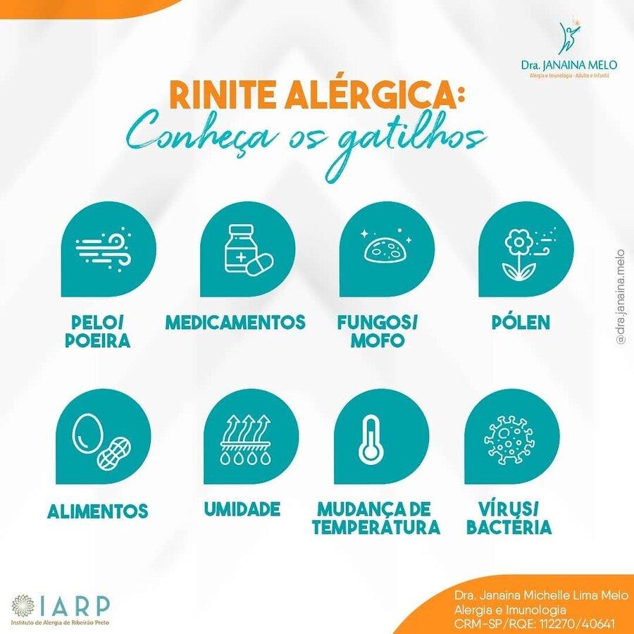Gatilhos da Rinite Alérgica