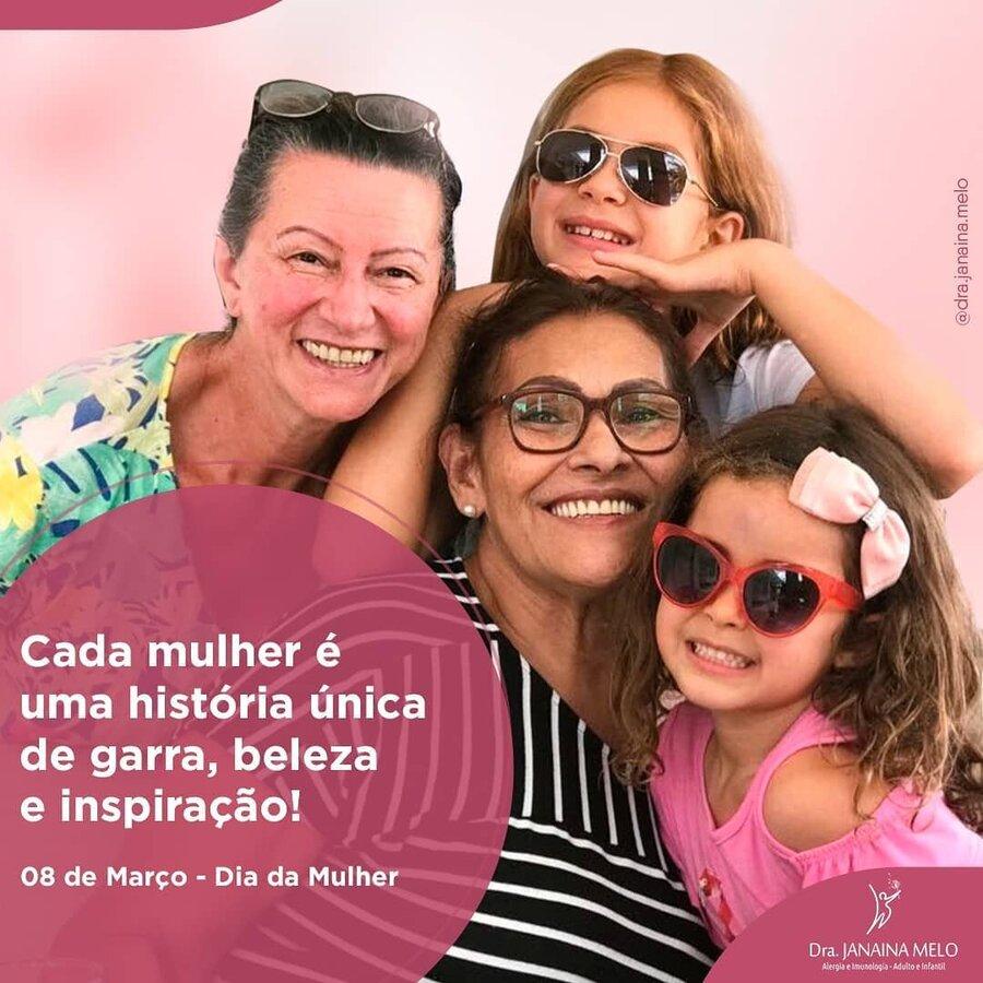 Dia Internacional da Mulher!!!
