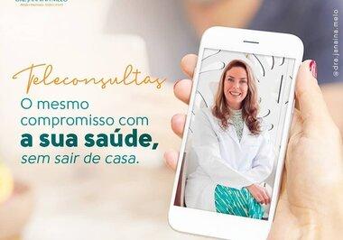 Teleconsulta - Compromisso com a sua saúde!