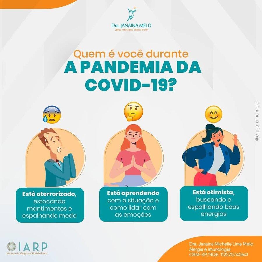 Quem é você durante a Pandemia da Covid-19?