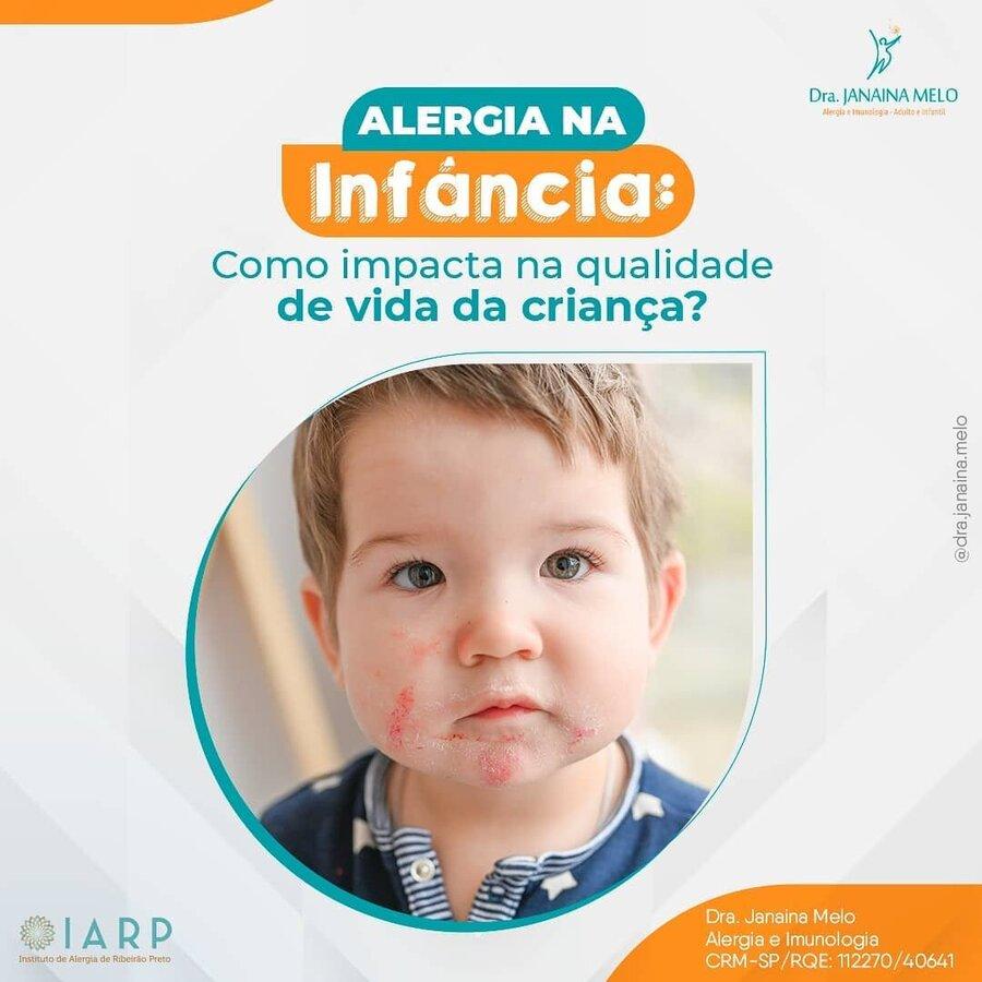 Como a alergia na infância impacta a vida da criança?