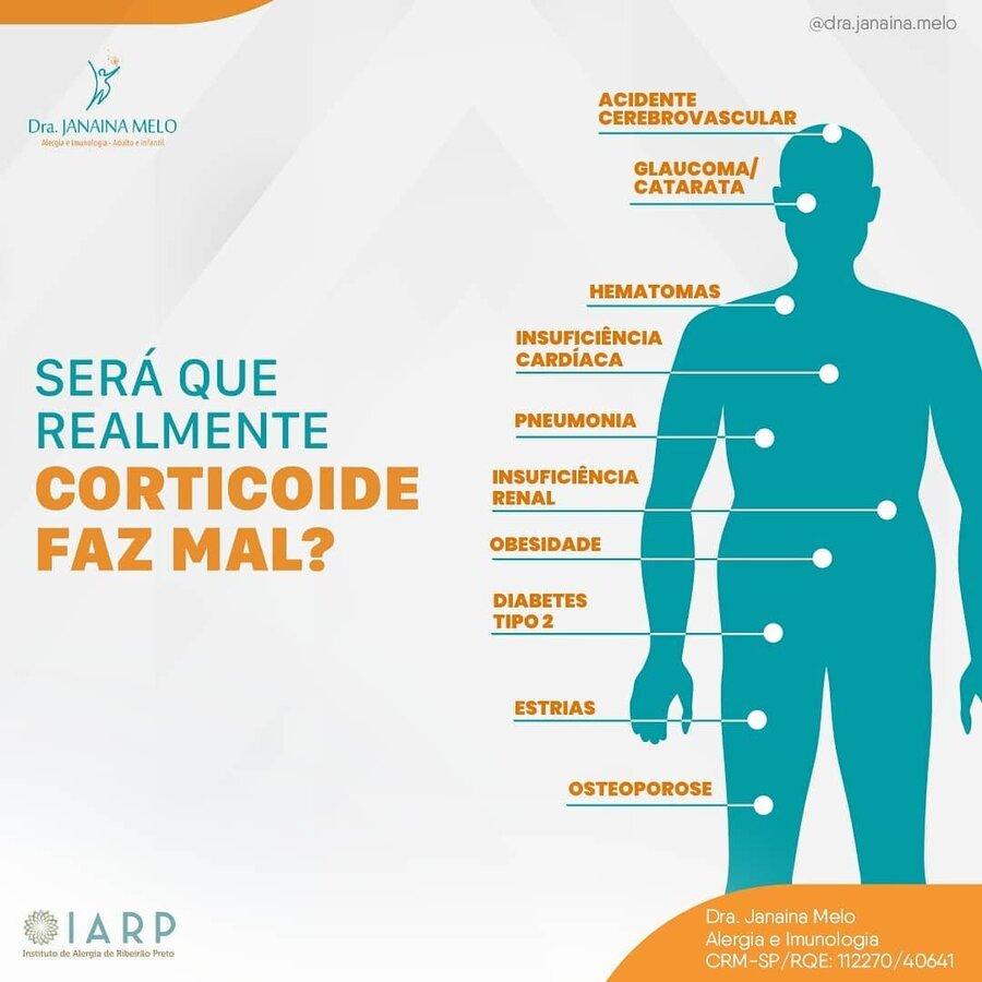 Corticoide faz mal?