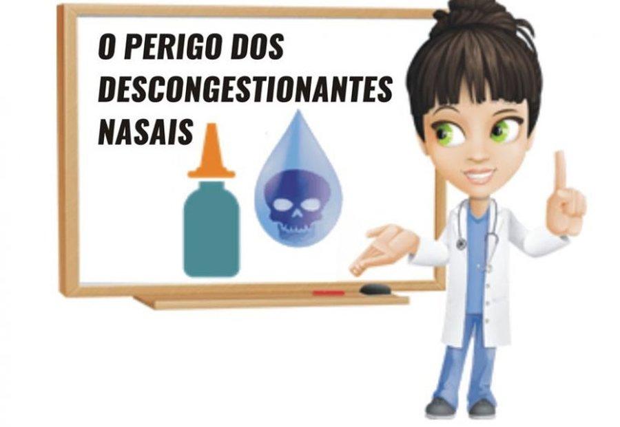 O PERIGO DOS DESCONGESTIONANTES NASAIS!