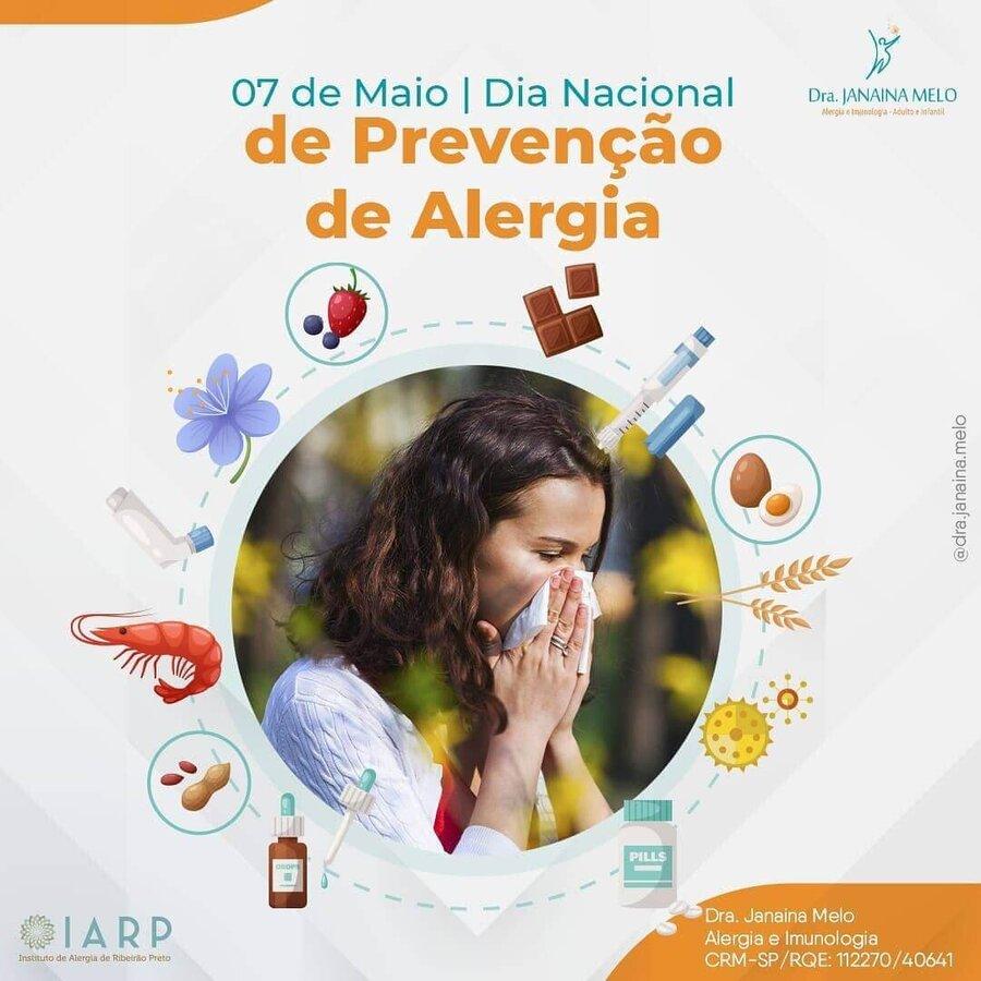 Dia Nacional de Prevenção as Doenças Alérgicas