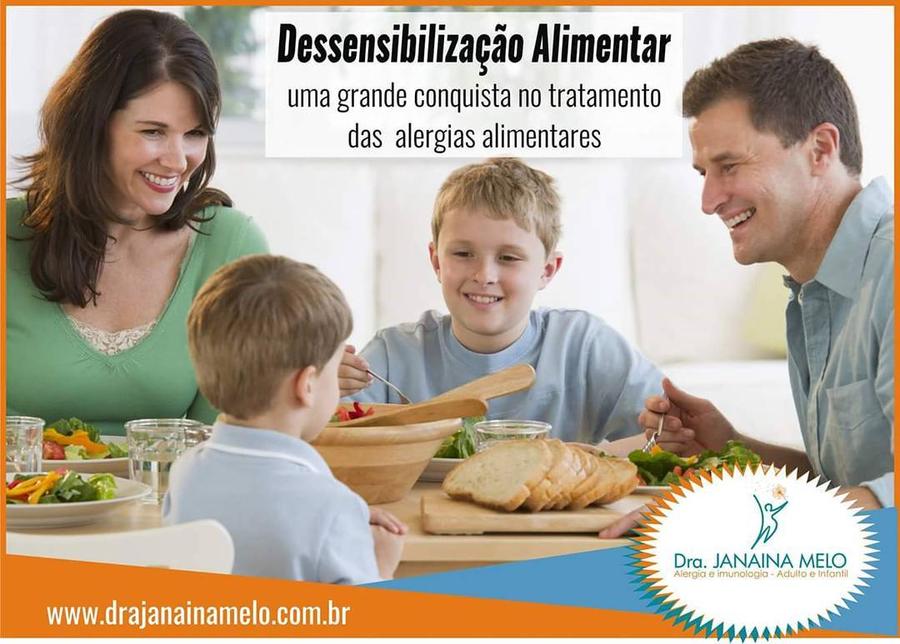 DESSENSIBILIZAÇÃO ALIMENTAR ou IMUNOTERAPIA ORAL