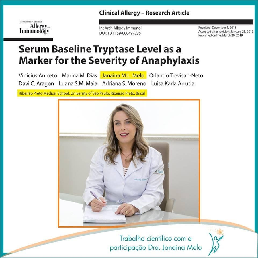 Serum Baseline Tryptase Level as a Marker for the Severity of Anaphylaxis