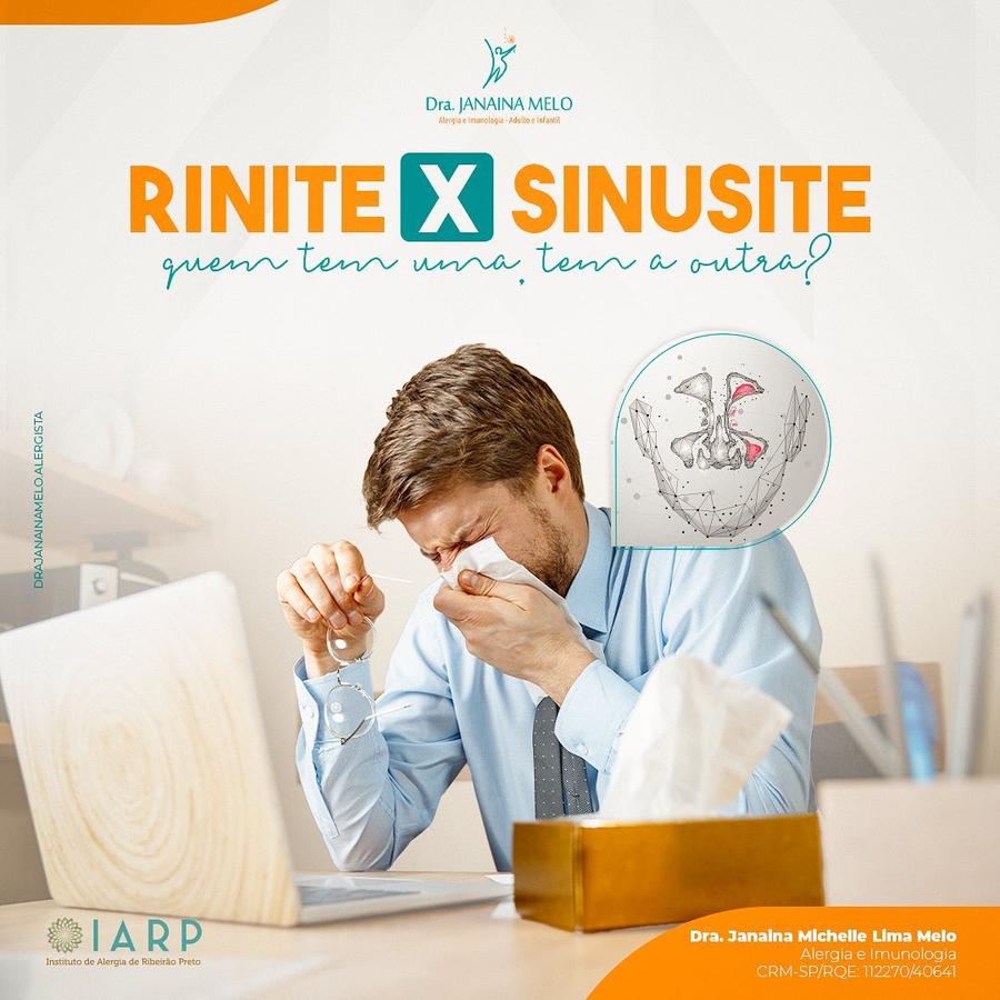 Quem tem Rinite tem Sinusite?