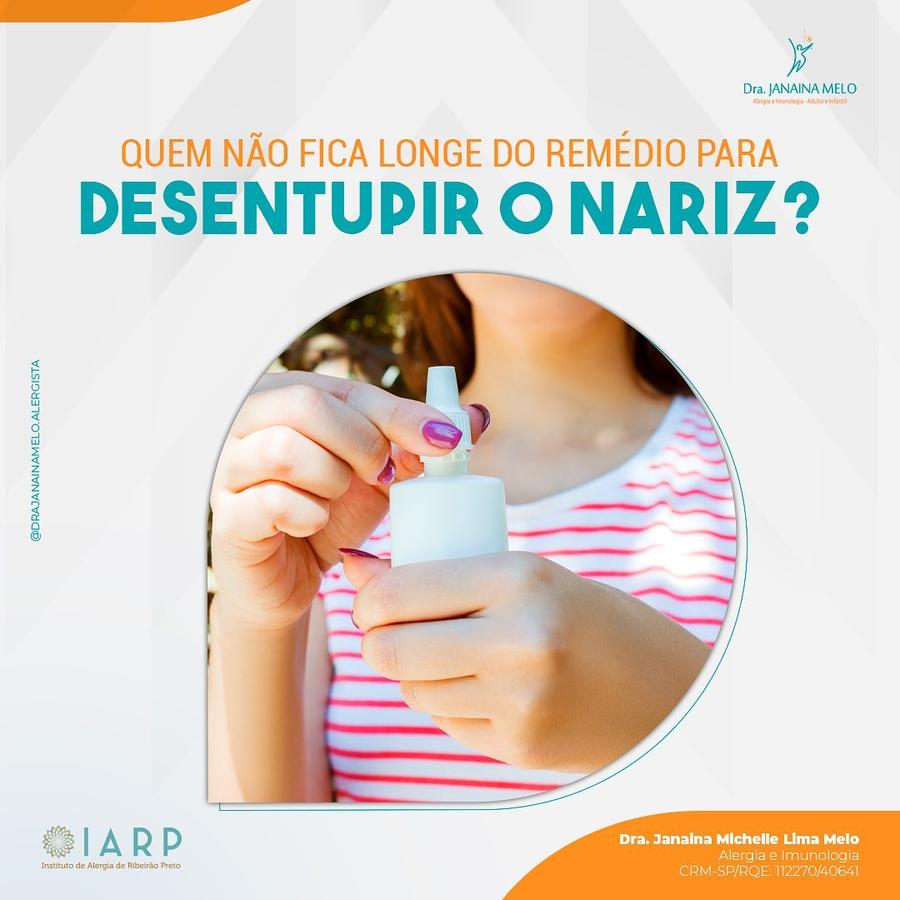 Você está viciado em Vasoconstritor Nasal?