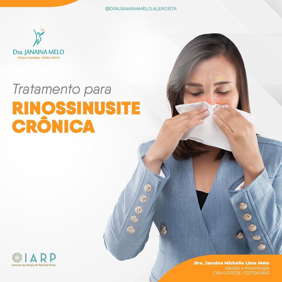 Tratamento para Rinossinusite Crônica