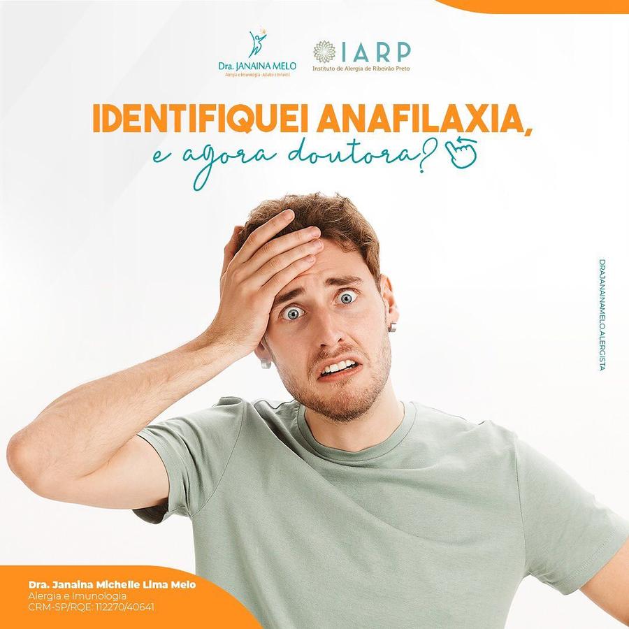 O que fazer quando identificar anafilaxia?