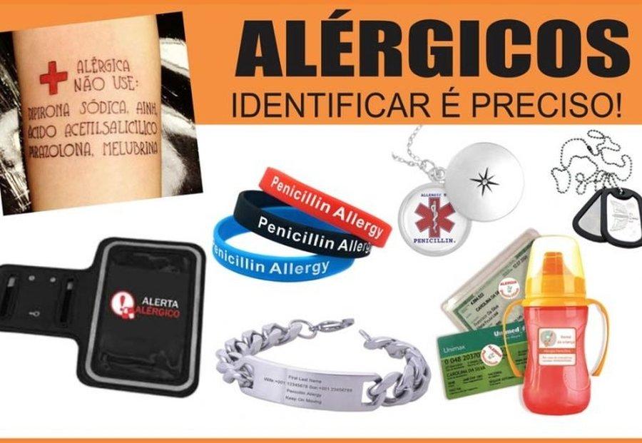 IDENTIFICAÇÃO DE ALÉRGICOS A MEDICAMENTOS