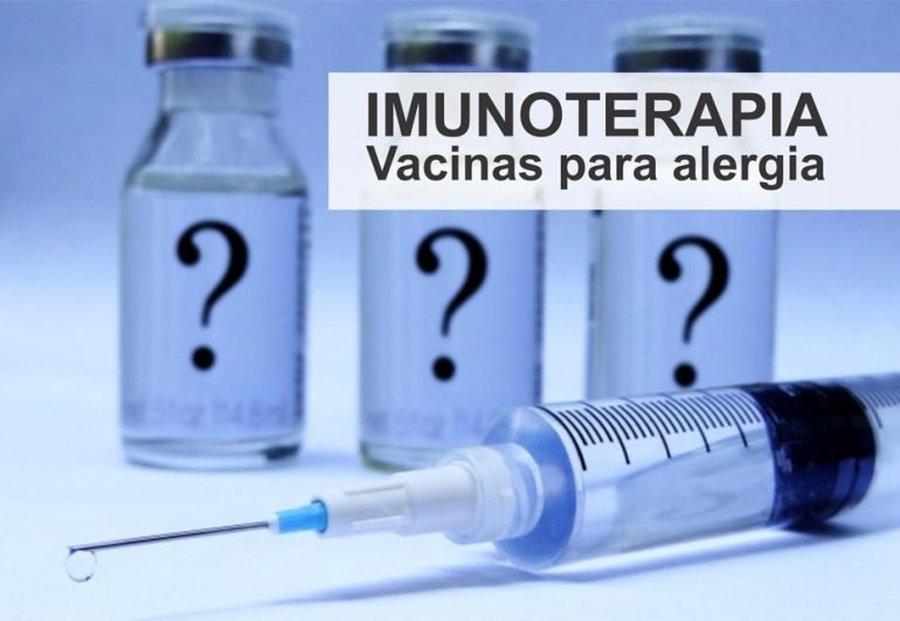 IMUNOTERAPIA, EFICIENTE NO TRATAMENTO DE ALERGIAS