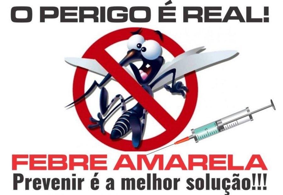FEBRE AMARELA – O RISCO É REAL!