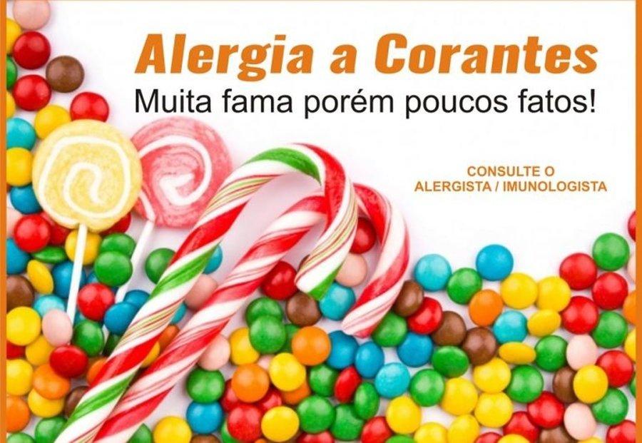 ALERGIA A CORANTES – MUITA FAMA PORÉM POUCOS FATOS!